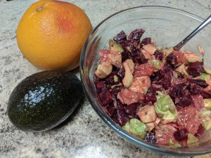 Beet Avocado Citrus Salad